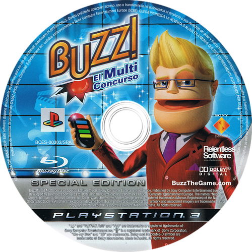 Buzz! El MultiConcurso - Special Edition PS3 discM (BCES00303)