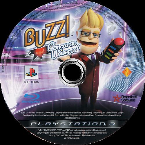 Buzz! Concurso Universal PS3 discM (BCES00645)