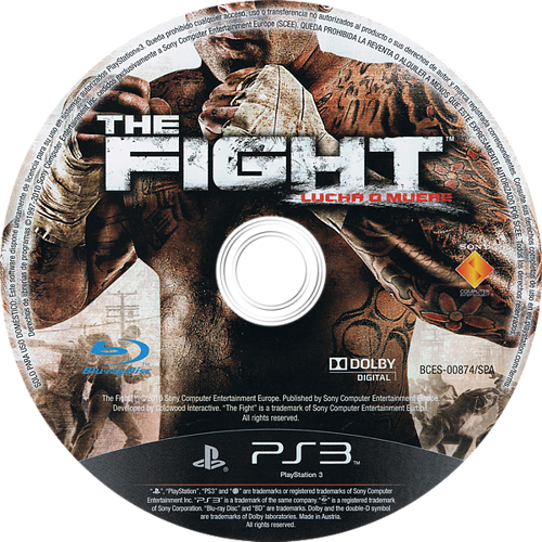 The Fight: Lucha o Muere PS3 discM (BCES00874)