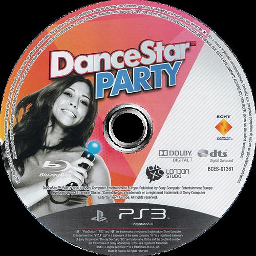 DanceStar Party PS3 discM (BCES01361)