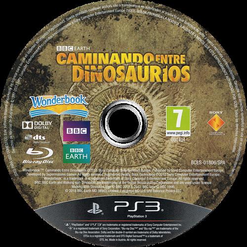 Wonderbook: Caminando entre Dinosaurios PS3 discM (BCES01806)