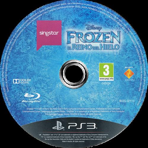SingStar Frozen: El Reino del Hielo Array discM (BCES02113)