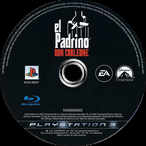 El Padrino:Don Corleone PS3 discM (BLES00047)