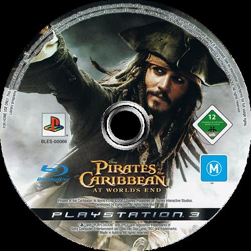 Piratas del Caribe: En el Fin del Mundo PS3 discM (BLES00066)