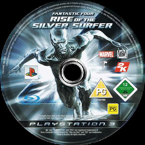 Los 4 Fantásticos y Silver Surfer PS3 discM (BLES00075)