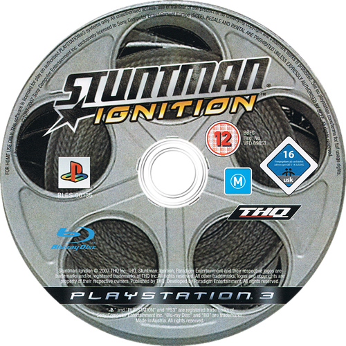 Stuntman: Ignition PS3 discM (BLES00135)