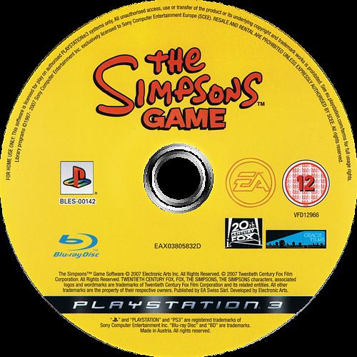 Los Simpsons: El Videojuego PS3 discM (BLES00142)