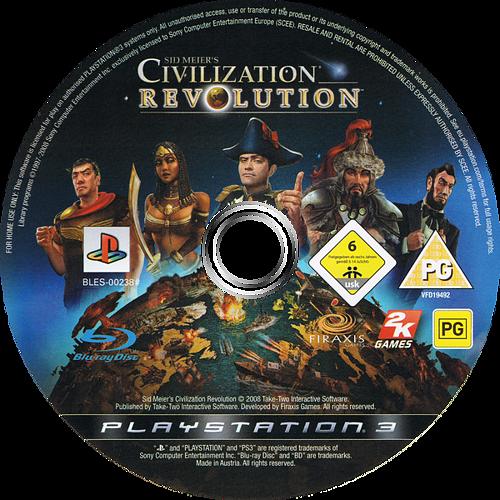 PS3 discM (BLES00238)