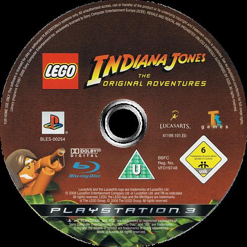 LEGO Indiana Jones: La Trilogía Original Array discM (BLES00254)