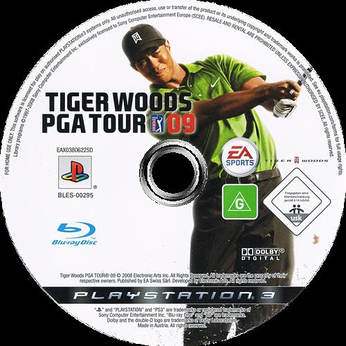 Tiger Woods PGA Tour 09 PS3 discM (BLES00295)