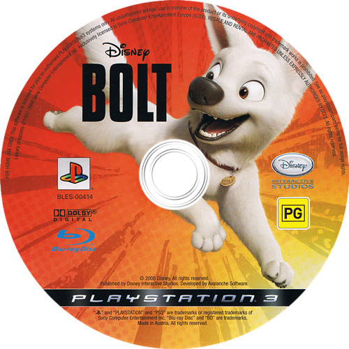 PS3 discM (BLES00414)