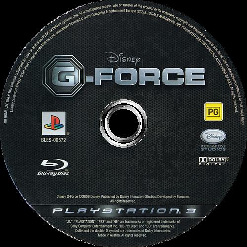 G-Force: Licencia para Espiar PS3 discM (BLES00572)