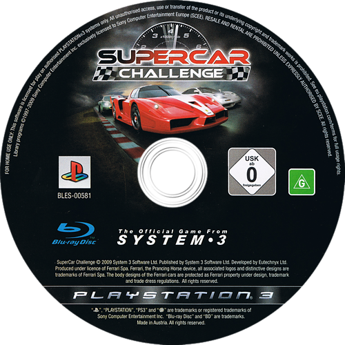 PS3 discM (BLES00581)