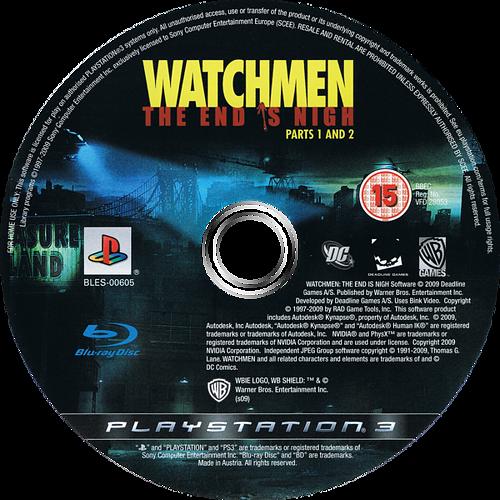 Watchmen: El Fin Está Cerca - Partes 1 y 2 Array discM (BLES00605)