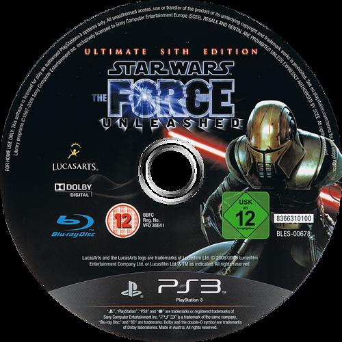 Star Wars: El Poder de la Fuerza: Edición Sith PS3 discM (BLES00678)