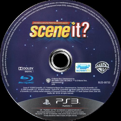 Scene It? ¡Estrellas en Pantalla Gigante! PS3 discM (BLES00733)