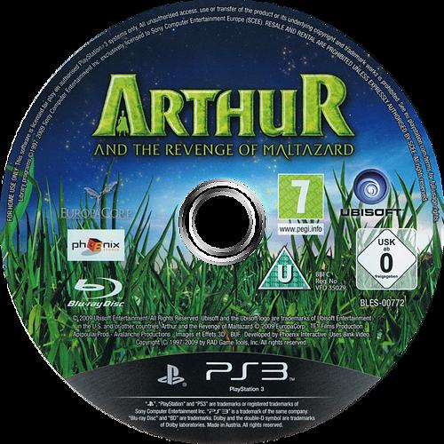 Arthur y la Venganza de Maltazard PS3 discM (BLES00772)