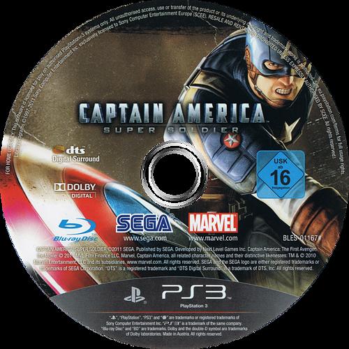 Capitán América: Super Soldado PS3 discM (BLES01167)