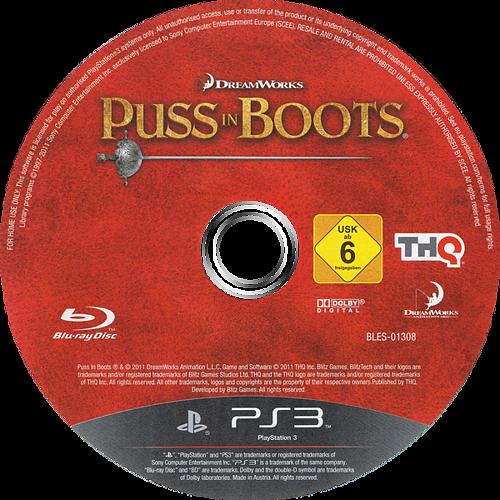 El Gato con Botas PS3 discM (BLES01308)