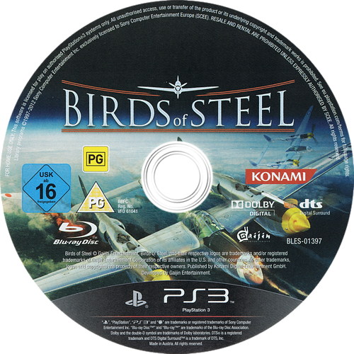 PS3 discM (BLES01397)