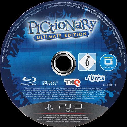 Pictionary: Edición Actualizada PS3 discM (BLES01474)