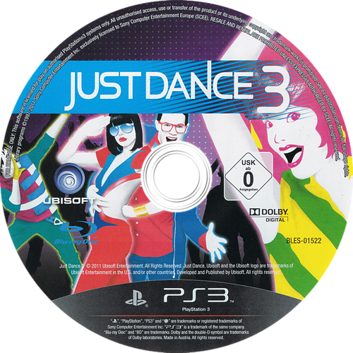 PS3 discM (BLES01522)