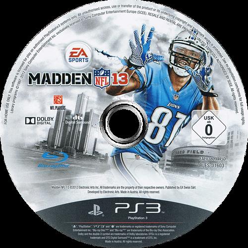 PS3 discM (BLES01603)
