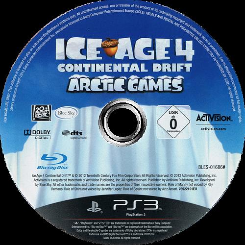 Ice Age 4: La Formación de los Continentes - Juegos en el Ártico PS3 discM (BLES01686)