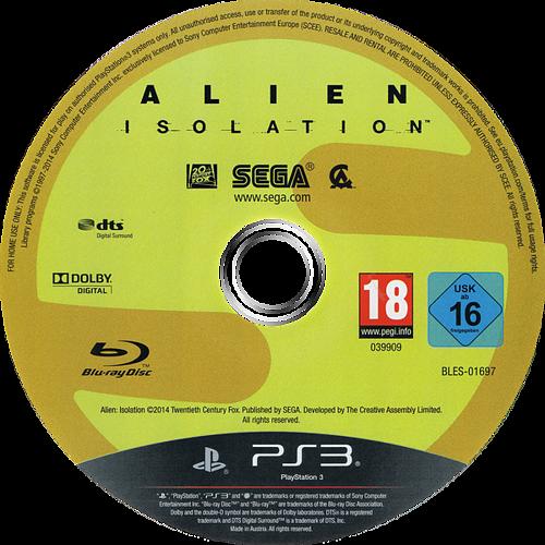 PS3 discM (BLES01697)