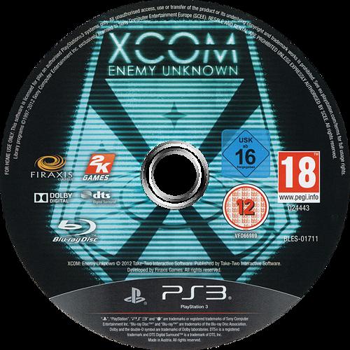 XCOM: Enemy Unknown PS3 discM (BLES01711)