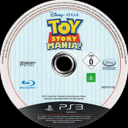 Toy Story: Mini Aventuras PS3 discM (BLES01730)