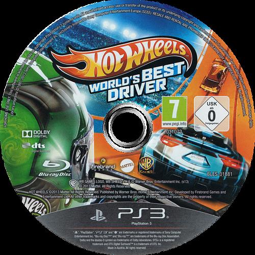 Hot Wheels: El mejor piloto del mundo PS3 discM (BLES01881)