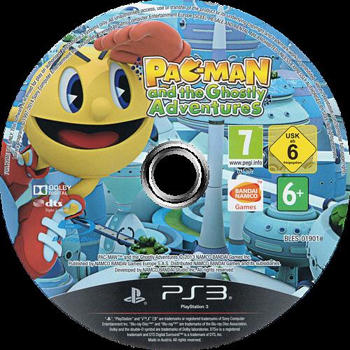 Pac-Man y las Aventuras Fantasmales PS3 discM (BLES01901)