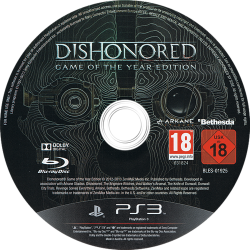 PS3 discM (BLES01925)