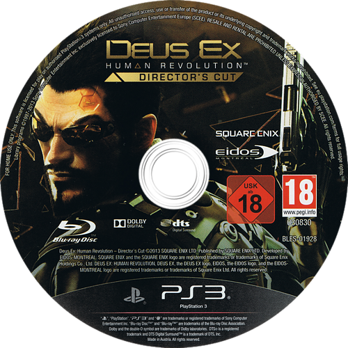 PS3 discM (BLES01928)