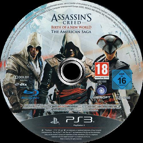 Assassin's Creed: El origen de un nuevo mundo - La Saga Americana PS3 discM (BLES02085)