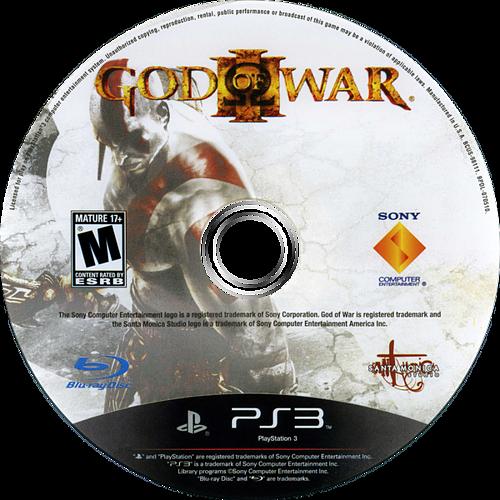 God of War III PS3 discM (BCUS98111)