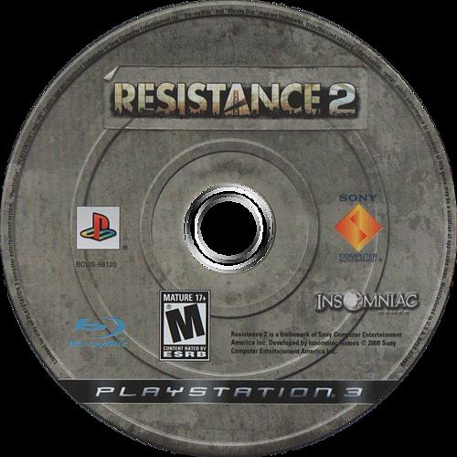 Resistance 2 PS3 discM (BCUS98120)