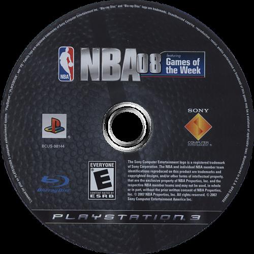 NBA 08 PS3 discM (BCUS98144)