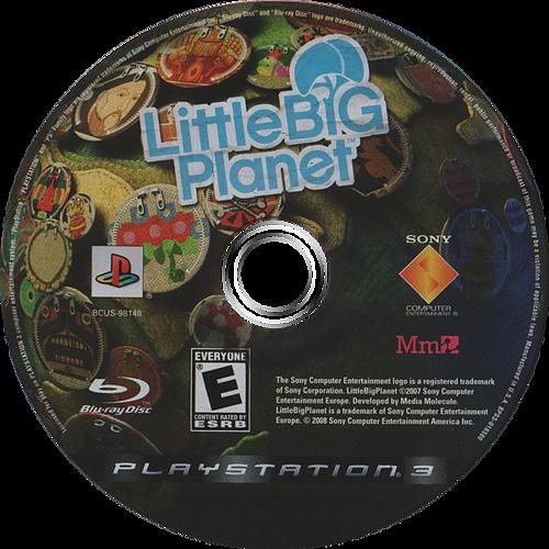 LittleBigPlanet PS3 discM (BCUS98148)
