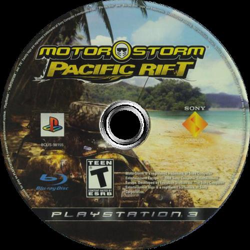 MotorStorm: Pacific Rift PS3 discM (BCUS98155)