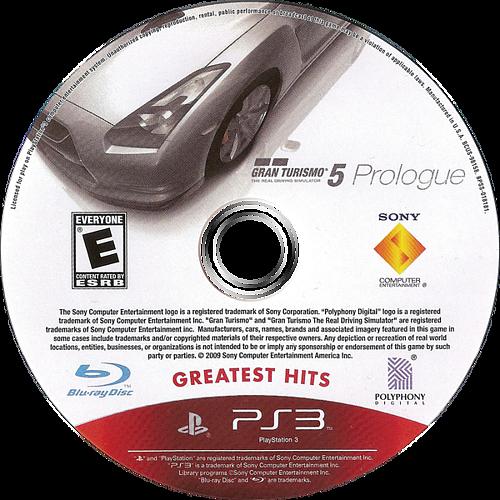Gran Turismo 5: Prologue PS3 discM (BCUS98158)