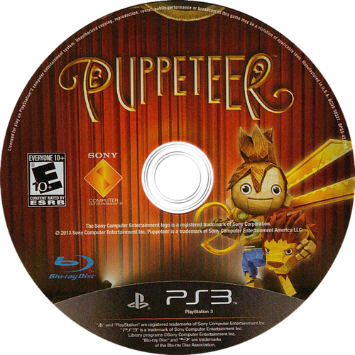 Puppeteer PS3 discM (BCUS98227)
