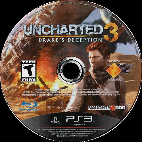 Uncharted 3: Drake's Deception PS3 discM (BCUS98233)