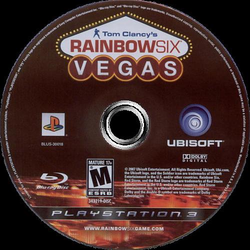 Tom Clancy's Rainbow Six: Vegas PS3 discM (BLUS30018)