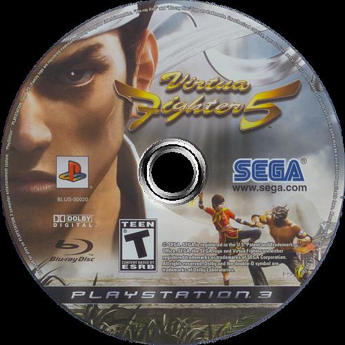Virtua Fighter 5 PS3 discM (BLUS30020)