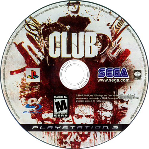 The Club PS3 discM (BLUS30108)