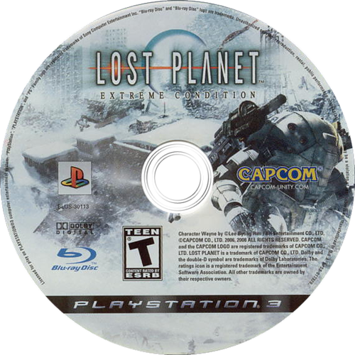 Lost Planet: Extreme Condition PS3 discM (BLUS30113)