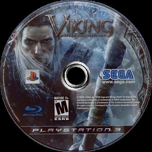 Viking: Battle for Asgard PS3 discM (BLUS30129)