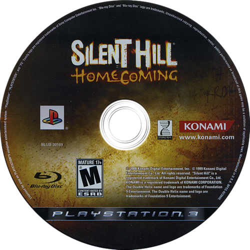 Silent Hill: Homecoming PS3 discM (BLUS30169)